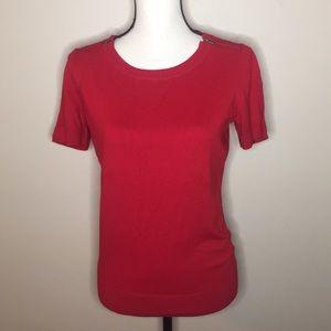Worthington Sweater Red Size Large